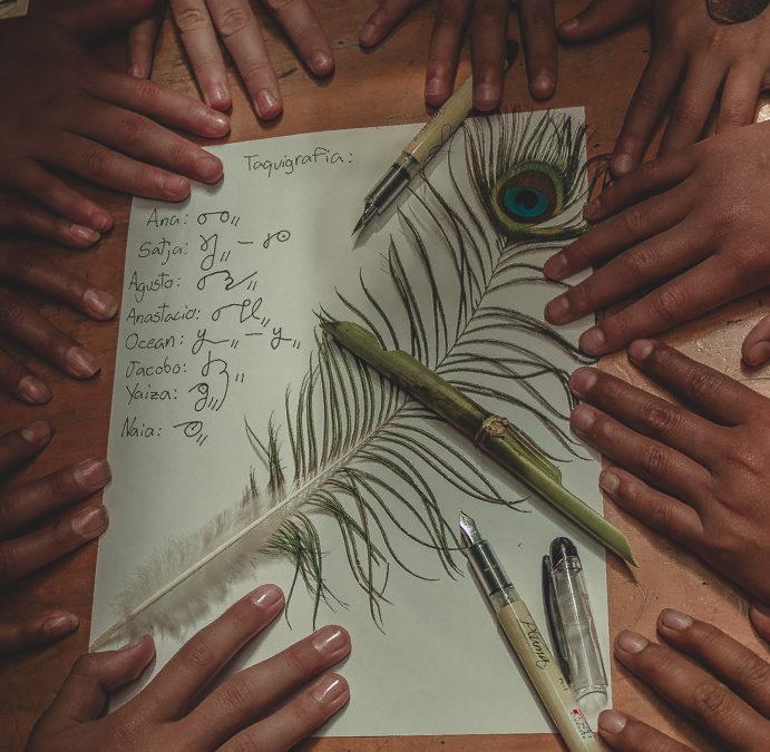 Shorthand:  Writing without the alphabet
