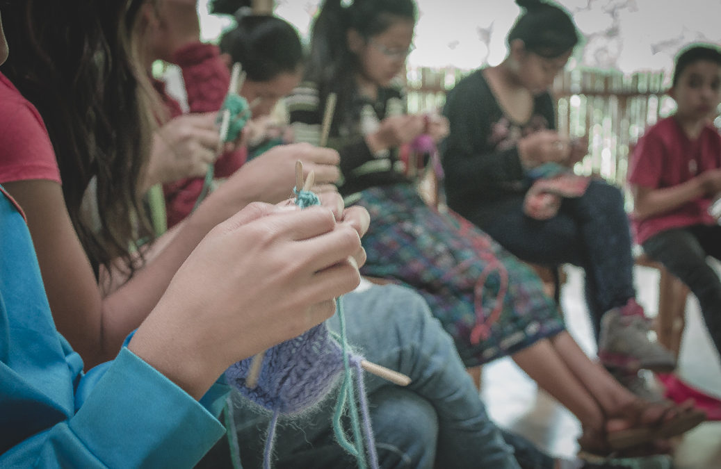 Knitting and the learning process: