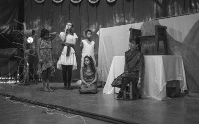 Theatre, an important artistic discipline at Escuela Caracol: