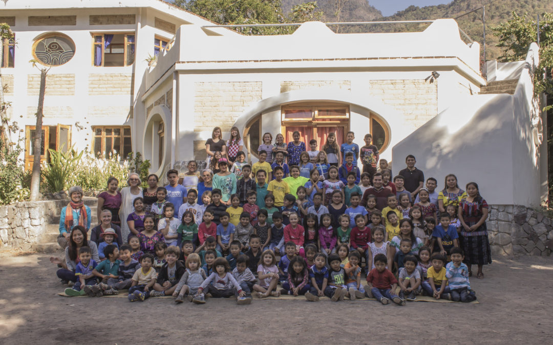 Escuela Caracol, school year 2019.