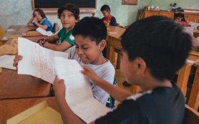 """Intercambio de correspondencia con el Colegio Waldorf Colombiano """"Luis Horacio Gómez""""."""
