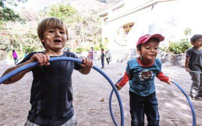 ¡Cómo disfrutamos los momentos de juego al aire libre! (Galería)