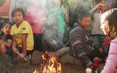 Estudiantes y maestros celebraron el nuevo año solar Maya.